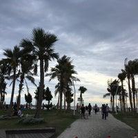 Photo taken at 旗津海水浴場 Cijin Beach by Phoebe C. on 8/27/2017