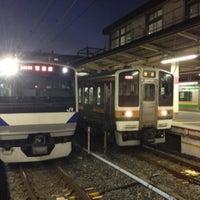 Photo taken at Platforms 9-10 by 国木田 エ. on 12/23/2012