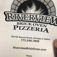 Photo taken at Riverview Brick Oven Pizzeria by Gil S. on 10/2/2013