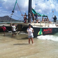 Photo taken at Maita'i Catamaran by Calvin D. on 9/29/2013