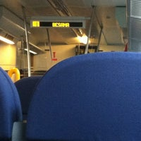 Photo taken at Binario 20 by Chiara M. on 11/12/2012
