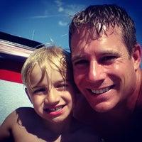 Photo taken at Drake Springs Pool by Corey G. on 7/19/2015