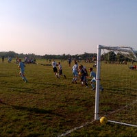Photo taken at Tempo Soccer Club Fields by Corey G. on 8/24/2013
