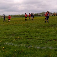 Photo taken at Tempo Soccer Club Fields by Corey G. on 5/19/2013