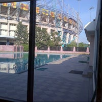 Photo taken at Rajiv Gandhi Cricket Stadium by Shoaib M. on 12/20/2012