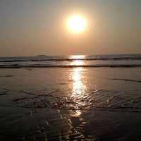 Photo taken at Murud Beach by Arshan S. on 12/29/2012
