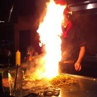 Photo taken at Fuji Japanese Steak House by Sean L. on 1/4/2013