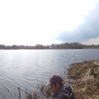 Photo taken at Черное Озеро by Анна Ю. on 5/10/2013