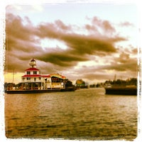 Photo taken at New Canal Lighthouse by Leighton O. on 10/18/2012