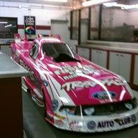 Photo taken at John Force Racing by Linda R. on 12/19/2013