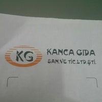 Photo taken at KANCA GIDA by Mustafa Ü. on 12/12/2014