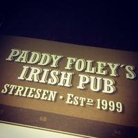 Photo taken at Paddy Foleys Irish Pub by Sven W. on 1/8/2013
