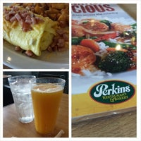 Photo taken at Perkins Restaurant by T M. on 4/21/2014