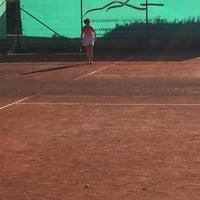 Photo taken at Tennis Club Duinbergen by Tine K. on 9/7/2016