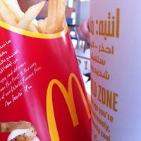 Photo taken at McDonald's by Abeer T. on 3/6/2013