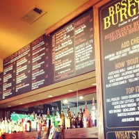 Photo taken at Village Burger Bar by Gordon B. on 9/23/2012