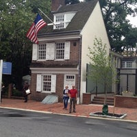 Photo taken at Betsy Ross House by J. M. on 6/10/2013