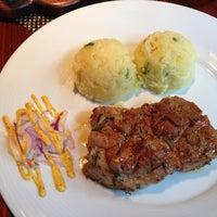Photo taken at Steak House Liberec by Leo N. on 6/28/2013