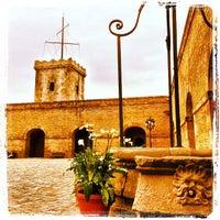 Photo taken at Castillo de Montjuic by Robin C. on 5/28/2013