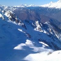 Photo taken at Rosa Khutor Ski Resort by Sergey S. on 1/2/2013
