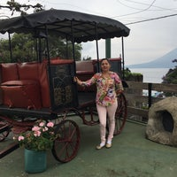 Photo taken at Posada De Don Rodrigo Panajachel by Nancy G. on 5/14/2017
