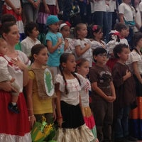 Photo taken at European School by Nancy G. on 9/13/2013