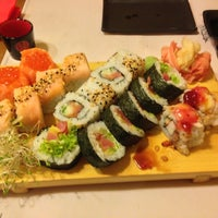 Photo taken at 77 Sushi by Tomás P. on 1/5/2013