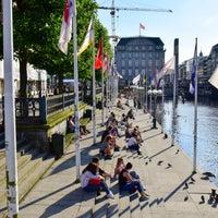 Photo taken at Alsterterrassen by Simon G. on 8/15/2017
