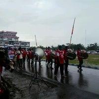 Photo taken at Pangkalan TNI-AL Sorong by Fanny T. on 8/18/2013