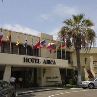 Photo taken at Hotel Arica by Coni S. on 1/17/2013