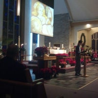 Photo taken at Edison park lutheran church by E J S. on 12/24/2012