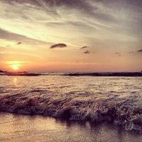 Photo taken at Kata Beach by Dmitry G. on 1/13/2013