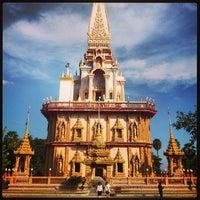 Photo taken at วัดไชยธาราราม (วัดฉลอง) Wat Chalong by Dmitry G. on 1/14/2013
