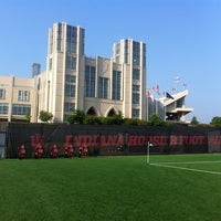 Photo taken at Iu practice field by Neal J. on 6/23/2013