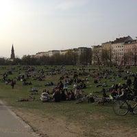 Photo taken at Görlitzer Park by Nachholer on 4/21/2013