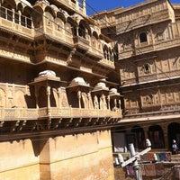 Photo taken at Jaisalmer Fort by Abhishek P. on 2/9/2013