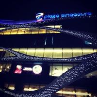 Photo taken at Plaza Singapura by Afo I. on 2/7/2013