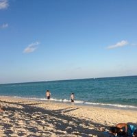 Photo taken at 75th Street Beach by TheOnlyChepex1 on 12/19/2012
