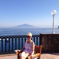 Photo taken at Europa Palace Grand Hotel Sorrento by Вера Л. on 8/12/2014