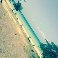 Photo taken at Lyssons Beach by Camille A. on 7/11/2015