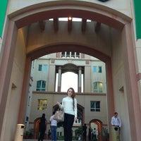 Photo taken at University of Wollongong in Dubai (UOWD) by Riliya T. on 1/8/2013