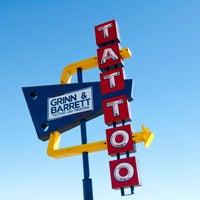 Photo taken at Grinn and Barrett Tattoo Studio by Grinn and Barrett Tattoo Studio on 10/8/2014