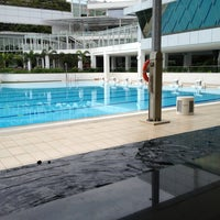 Photo taken at Swimming Pool @ Sports Complex by Tim C. on 2/14/2013