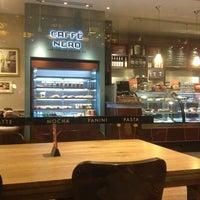 Photo taken at Caffé Nero by Tufiksan S. on 12/23/2012