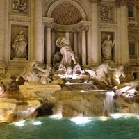 Photo taken at Trevi Fountain by Mateo A. on 7/18/2013
