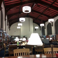 Photo taken at The Burke Library at Union Theological Seminary by Thomas N. on 12/9/2014
