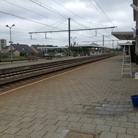 Photo taken at Station Ieper by Rik A. on 7/4/2013