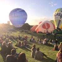 Photo taken at Ballonfestival Bonn by Sibel K. on 6/9/2017