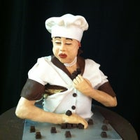Photo taken at The Chocolate Show by Stephanie G. on 11/10/2012
