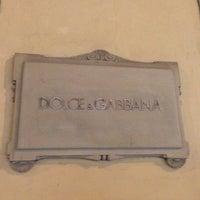 Photo taken at Dolce&Gabbana by Алексей on 5/5/2013
